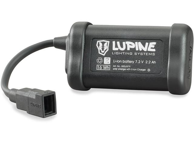 Lupine 2,2 Ah Hardcase zwart
